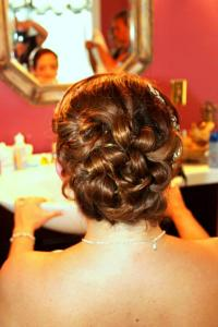 On site hairstylist, Bridal updo, Hair Accessories, on location hair, wedding hair,