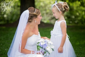 Flower Girl hair, Wedding hair, Bridal hair, Up Do, Formal hair, On site hairstylist, Cincinnati Wedding Hair