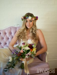 Bohemian Bride, Flower Crown, Special Day Bouquet, Cincinnati Weddings, Northern Kentucky Weddings, Wedding Hairstylist, Wedding Makeup Artist, Cincinnati Makeup Artist, Cincinnati Wedding Hair, On Site hair, On site Makeup