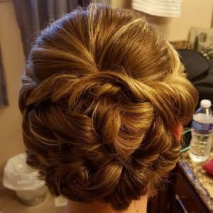 Updo, Formal hair, Wedding hair, Cincinnati, Cincinnati Weddings, Northern Ky Weddings, Hairstylist, On Site Hair, On Site Makeup, Bridal Hair, Bridesmaid Hair,