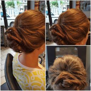 Updo, Romntic Hair, Cincinnati Weddings, The Soap Box, Northern Kentucky Weddings, Hairstyles, Weddings, Wedding hair, Bridal Hair, Bridesmaid Hair, Formal hair, Cincinnati,