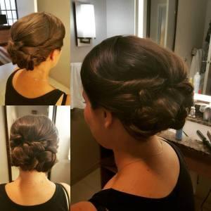 Cincinnati, Weddings, Cincinnati Weddings, Wedding Hair, Bridal Hair, Bridesmaid Hair, Northern Kentucky Weddings, UpDo, On Site Hairstylist, Formal Hair