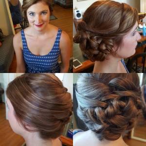 Bold Lips, Cincinnati Bride, UpDo, Formal Style, Wedding Hair, Wedding Makeup, Natural Wedding Makeup, Bridal Hair, Bridal Makeup, Cincinnati,, Northern Kentucky,