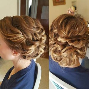 cincinnati, denver, colorado, ohio, kentucky, updo, wedding, weddings, wedding hair, bridal hair, formal hair, hair, highlights, romantic, northern kentucky, airbrush makeup