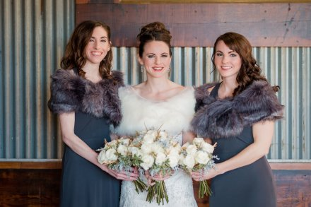 Winter Wedding, Cincinnati Wedding, Ohio Wedding, Bridal Party. Sisters, Wedding Party, Wedding Photos, Wedding Hair and Makeup
