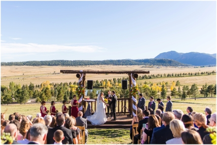Colorado Wedding, Fall Wedding, Spruce Mountain Ranch, Larkspur Colorado, Wedding Ceremony, Outdoor Wedding, Outdoor Ceremony,