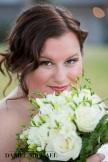 Bride, Summer Wedding, Cincinnati Wedding, Bridal Bouquet, Natural Makeup, Romantic Hair