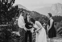 Estes Park Spring Wedding