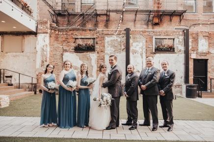 Kentucky Spring Bridal Party