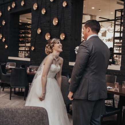Kentucky Bride and Groom First Look