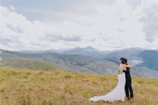 Vail Summer Wedding First Look