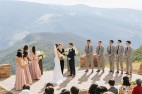 Vail Wedding Deck Summer Wedding