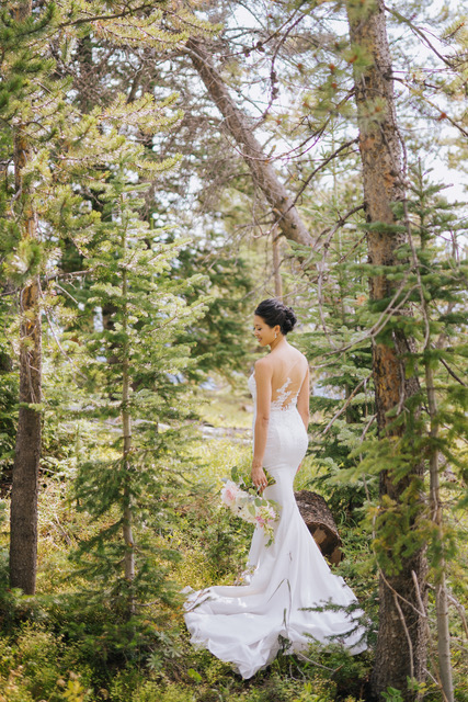 Vail Summer Wedding Bride