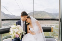 Vail Summer Wedding Gondola Ride