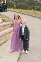 Vail Wedding Flower Girl and Ring Bearer