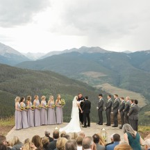 Vail Wedding Ceremony