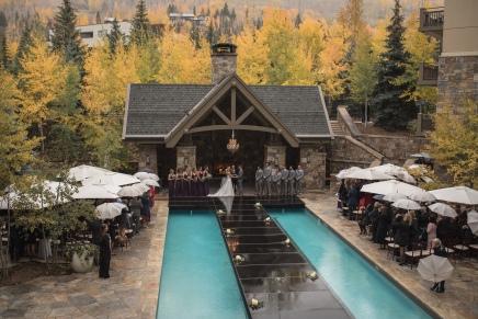 Vail Four Seasons Wedding Ceremony