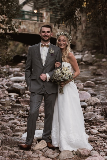 Vail Bride and Groom