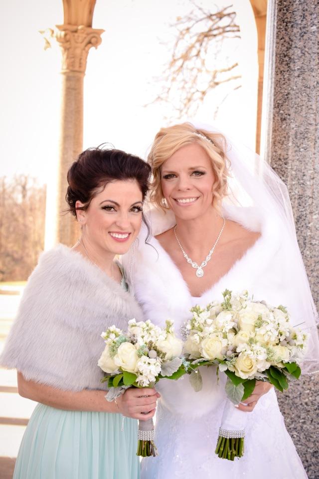 ohio winter wedding | rollers & rouge