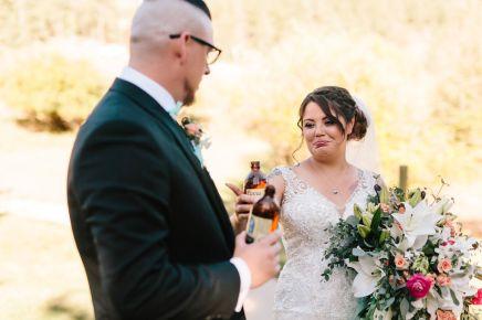 Colorado Fall Wedding Toast