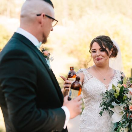 Colorado Fall Wedding Toast