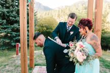 Colorado Fall Wedding