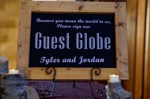 Globe Guest Book