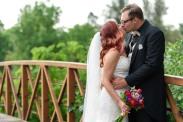 Denver Summer Wedding Bride & Groom