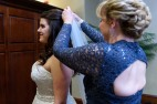 Mother and Bride Veil Placement