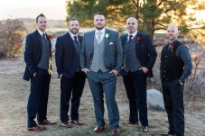 Sedalia Winter Wedding Groomsmen