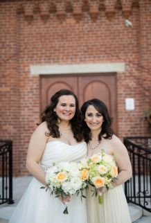Cincinnati Ohio Spring Bridal Party