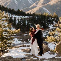 Lookout Mountain Winter Elopement