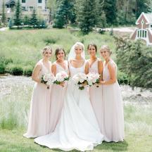 Vail, Colorado Summer Bridal Party