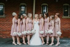 Centennial Barn Bridal Party