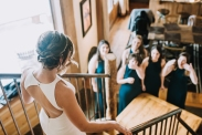 Colorado Winter Bridal Party