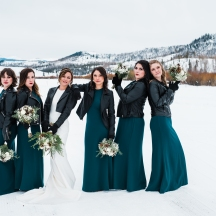 Winter Mountain Bridal Party